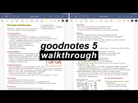 GOODNOTES 5!! ✏️ IPad Walkthrough