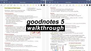goodNotes 5 Walkthrough   iPad