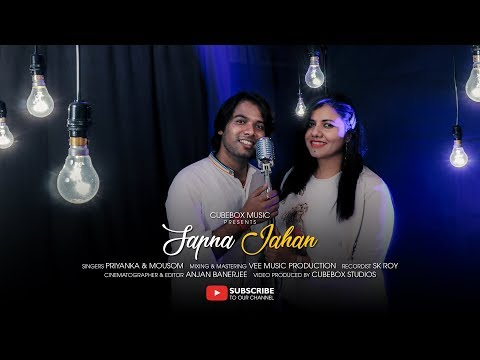 Sapna Jahan | Brothers (2015) | Karaoke Cover by Mousom & Priyanka | Cubebox Music