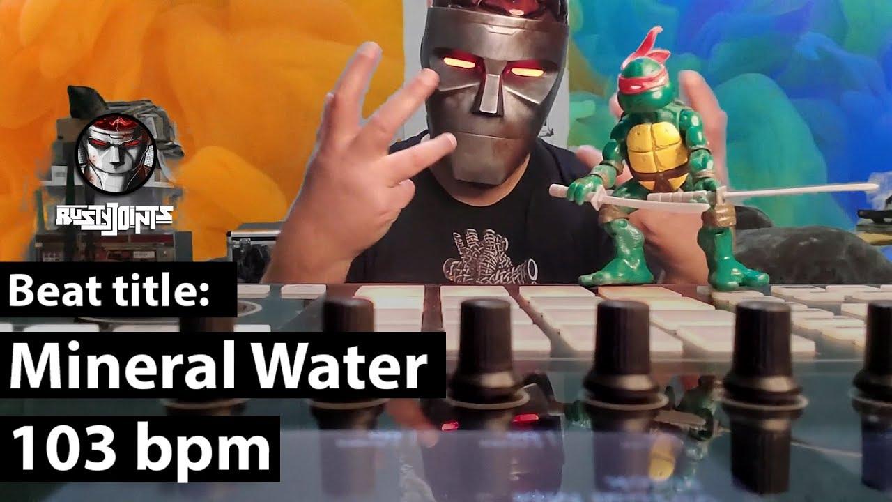 Mineral Water - 103 bpm (TEST TUBE BOOM BAP Beats) [LoFi Hip Hop