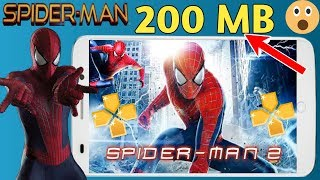 200 MB Spiderman 2 PSP Highly Compressed File With Best Setting Play Any Android phone