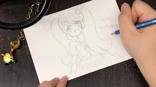 Drawing Tutorial of Manga Pretty Cure ⭐️光之美少女 プリキュアシリーズ