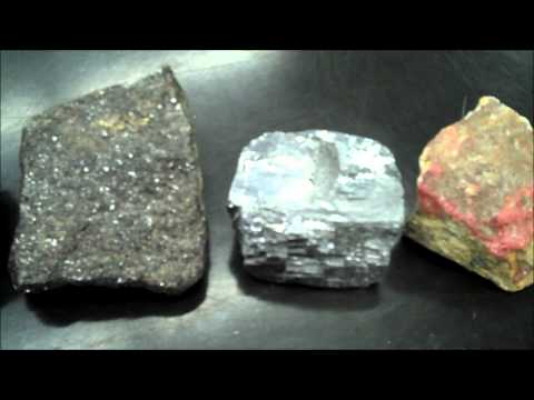A Few Sulphide Minerals