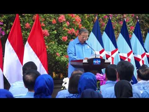 Pidato SBY pada HUT ke-16 Partai Demokrat