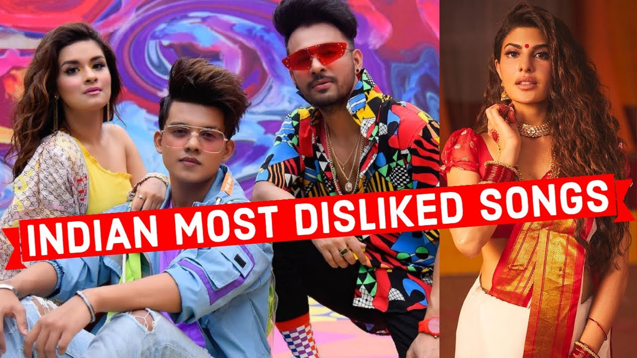 Top 25 Most Disliked Indian Songs of All Time on Youtube