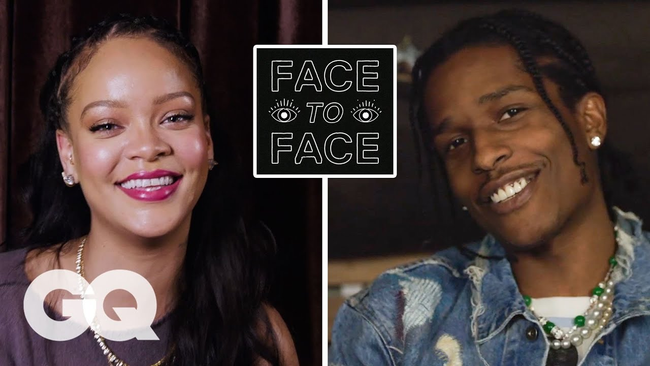 Download A$AP Rocky Answers 18 Questions From Rihanna | GQ