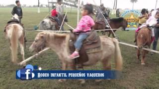 Rodeo Infantil Pequeños Vaqueros