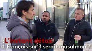 1 Français sur 3 serait musulman