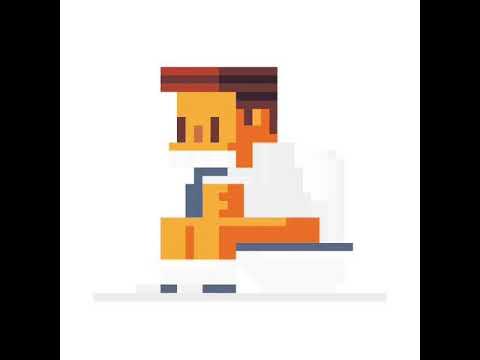 Pixel Art De Quelquun Qui Fais Caca Youtube