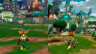 Ratchet & Clank | Original VS Remake Comparison | Comparativa PS2/PS4