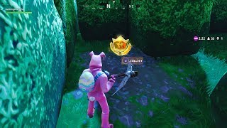 Follow The Treasure Map Found In Retail Row (Fortnite Week 7 Challenges)