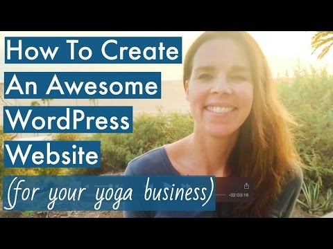 Sydney: How To Create A WordPress Website 2016