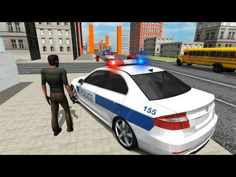 Polis Araba Oyunu Araba Takla Attı Youtube