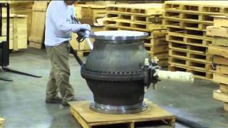 Blast Cleaning Services: Heaving Equipment Cleaning -- Valve Cleaning