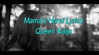 I do not own anything. all credits go to the right owners. no copyright intended. mama's hand lyrics queen naija music : https://victorymusic.us/music/mama's...