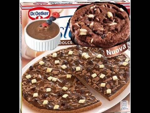 food review: chocolade pizza - youtube