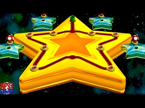 New Super Mario Bros. U Walkthrough - Superstar Road 100% Guide (Every Star Coin and Secret Exit)