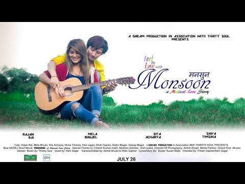 Monsoon - A Musical Love Story | Short Nepali Movie