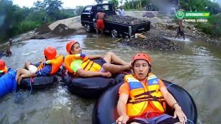 Gambar cover Serunya Wisata River Tubing di Desa Jurang - Kudus