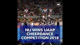 NU Pep Squad wins #UAAPCDC2018