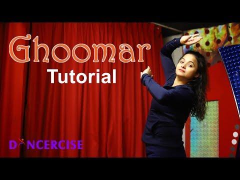 Ghoomar Song Dance Tutorial | Padmavati | Dancercise | Aditi  & Nickita Choreography