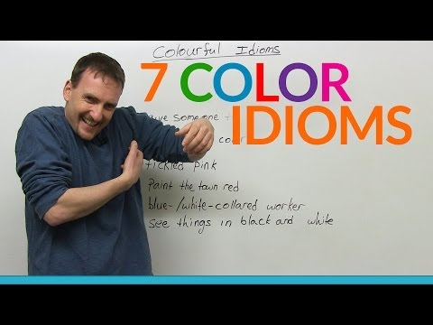 7 colorful English idioms