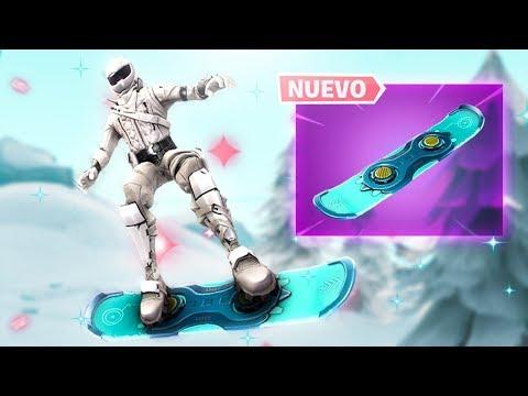 *NUEVO* VEHICULO! SNOWBOARD llegara a FORTNITE: Battle Royale