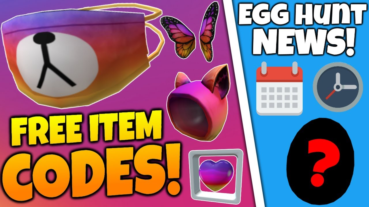 Promo Codes Free Bear Mask All Items Egg Hunt News Roblox