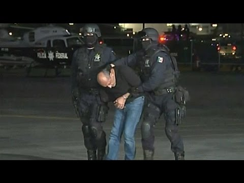Watch: Mexico arrests Knights Templar drug cartel leader 'La Tuta'