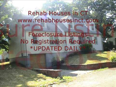 FREE Foreclosure Listings at  Rehab Houses in CT: The Most Complete Foreclosure Website in Connecticut with REAL Foreclosure Homes/Houses. Period. Maybe even more than RealtyTrac and Foreclosure.com!