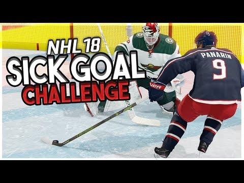 NHL 18: SICK GOAL CHALLENGE
