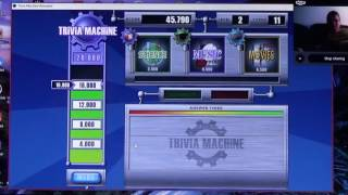 Trivia Machine Reloaded Game 1 Aired: 9/8/2016