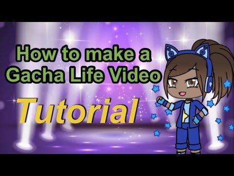 How To Make A Gacha Life Video Gacha Life Tutorial Youtube