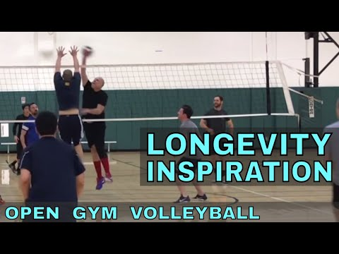 LONGEVITY + INSPIRATION - Open Gym Volleyball Highlights (3/15/18)
