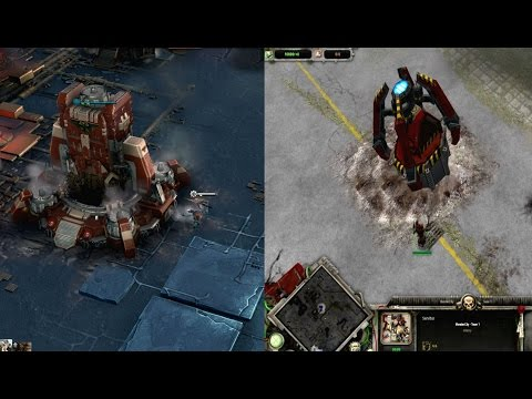 Dawn of War 1 Vs Dawn Of War 3 Base Building Comparison