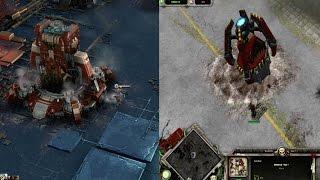 Dawn of War 1 Vs Dawn Of War 3 Base Building Comparison