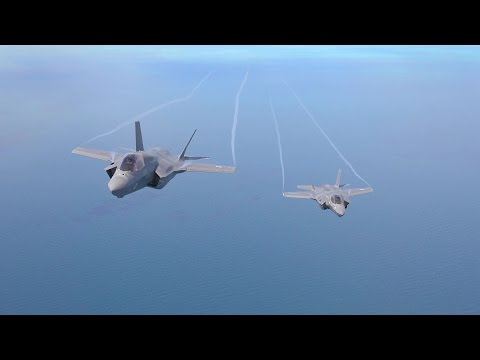 British Ministry Of Defence - F-35B Stealth Fighter Flight, Hover & Vertical Landing [2160p]