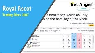 Bet Angel - Ascot trading diary - Peter Webb