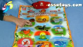 """Обучающий плакат """"Уроки Тетушки Совы"""", оптовый склад игрушек http://essatoys.com"""