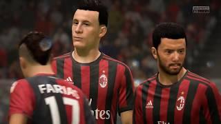 FIFA 18 PS4 | CAGLIARI vs AC MILAN | ITALIAN SERIE A PREDICTION | CPU VS CPU
