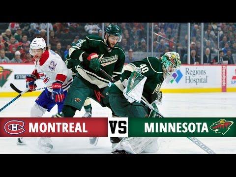 Montreal Canadiens vs Minnesota Wild   Season Game 43   Highlights (12/1/17)