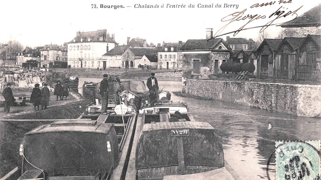 CANAL DE BERRY CARTES POSTALES ANCIENNES OLD POSTCARDS - YouTube