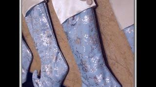 Diy: Sew A Christmas Stocking W/ Cuff