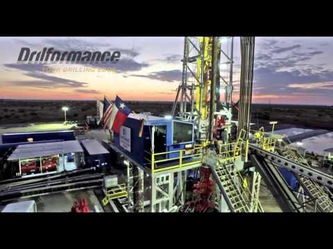 Drilling Rig Aerial Footage - Permian Basin