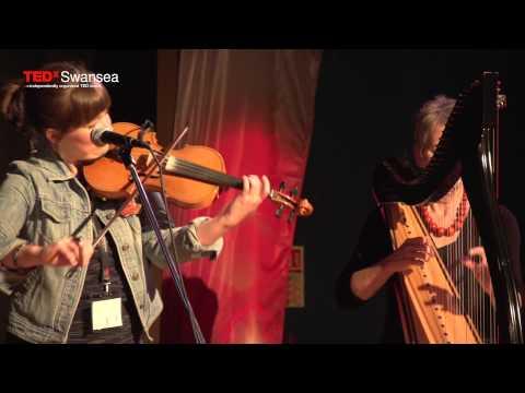 Medley of Welsh Folk Songs | DnA Folk | TEDxSwansea