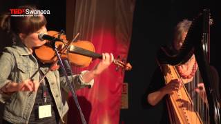 Medley of Welsh Folk Songs | DnA Folk | TEDxSwansea
