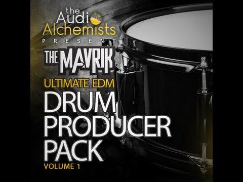 The Audio Alchemists Present The Mavrik Ultimate EDM Drum Producer Pack Vol 1