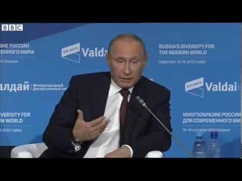Vladimir Putin 'hopeful' Syria will destroy chemical weapons