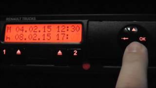 Video Siemens Digital Tachograph - Manual Entry (How To) download MP3, 3GP, MP4, WEBM, AVI, FLV Desember 2017