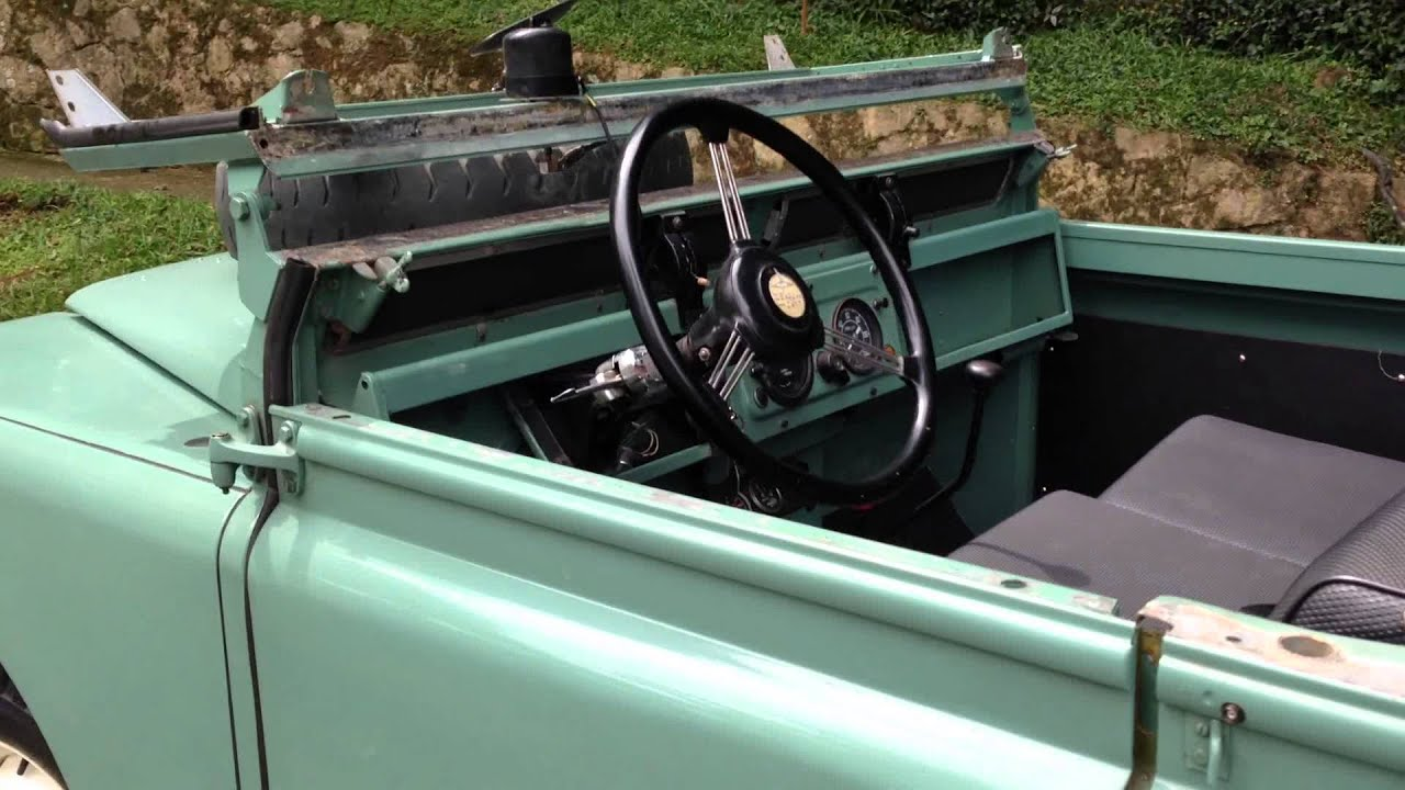 """Land Rover Truck >> Volcan 4x4 1960 Land Rover Series """"Afie"""" Top Down FUN - YouTube"""